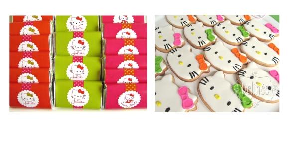 chocolatitos y cookies