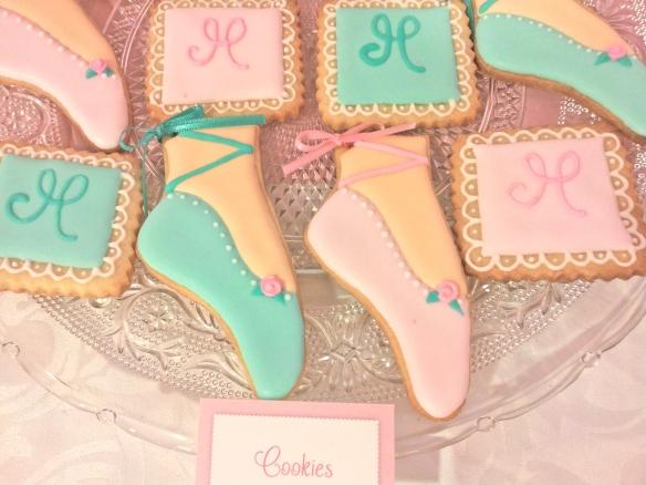 cookies zapatillita