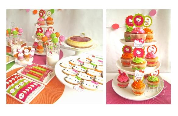 costado y torre cupcake