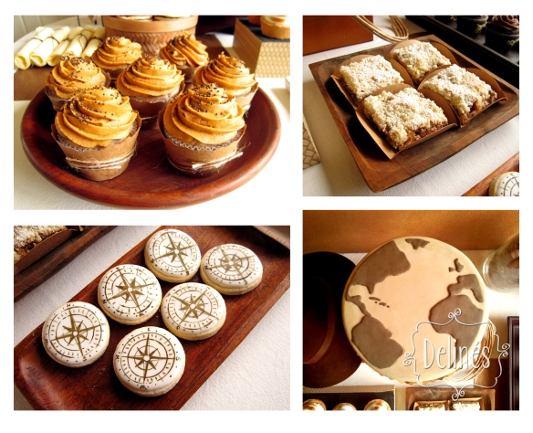 cupcake banana y varios