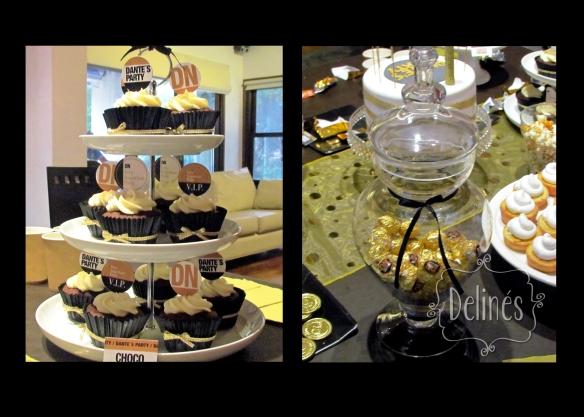 cupcake y ferrero