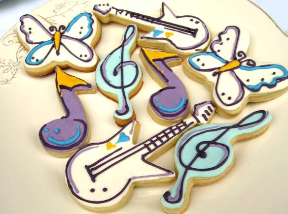 musicales y mariposas