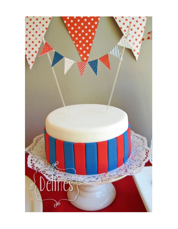 torta banderin
