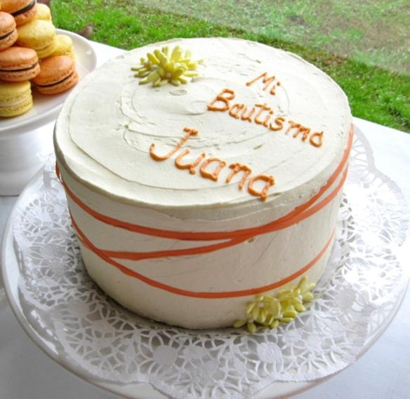 torta Bautismo Juani