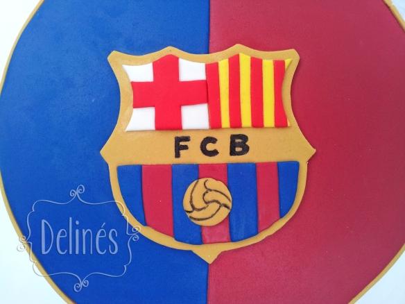 detalle escudo Barcelona