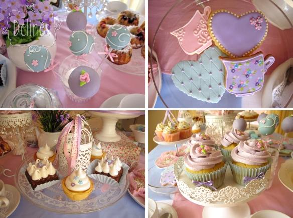pop, cookies, cupcakes y bocados