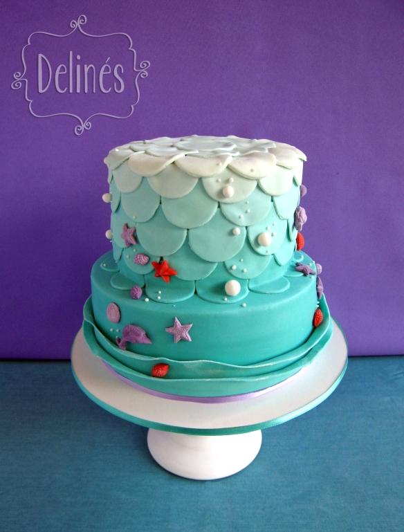 torta bajo el mar