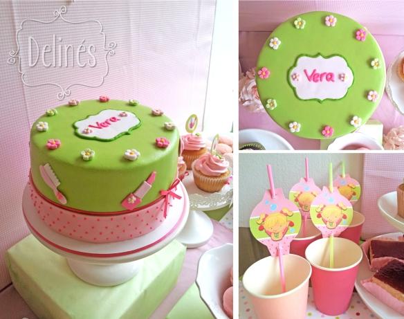 torta y sorbetes