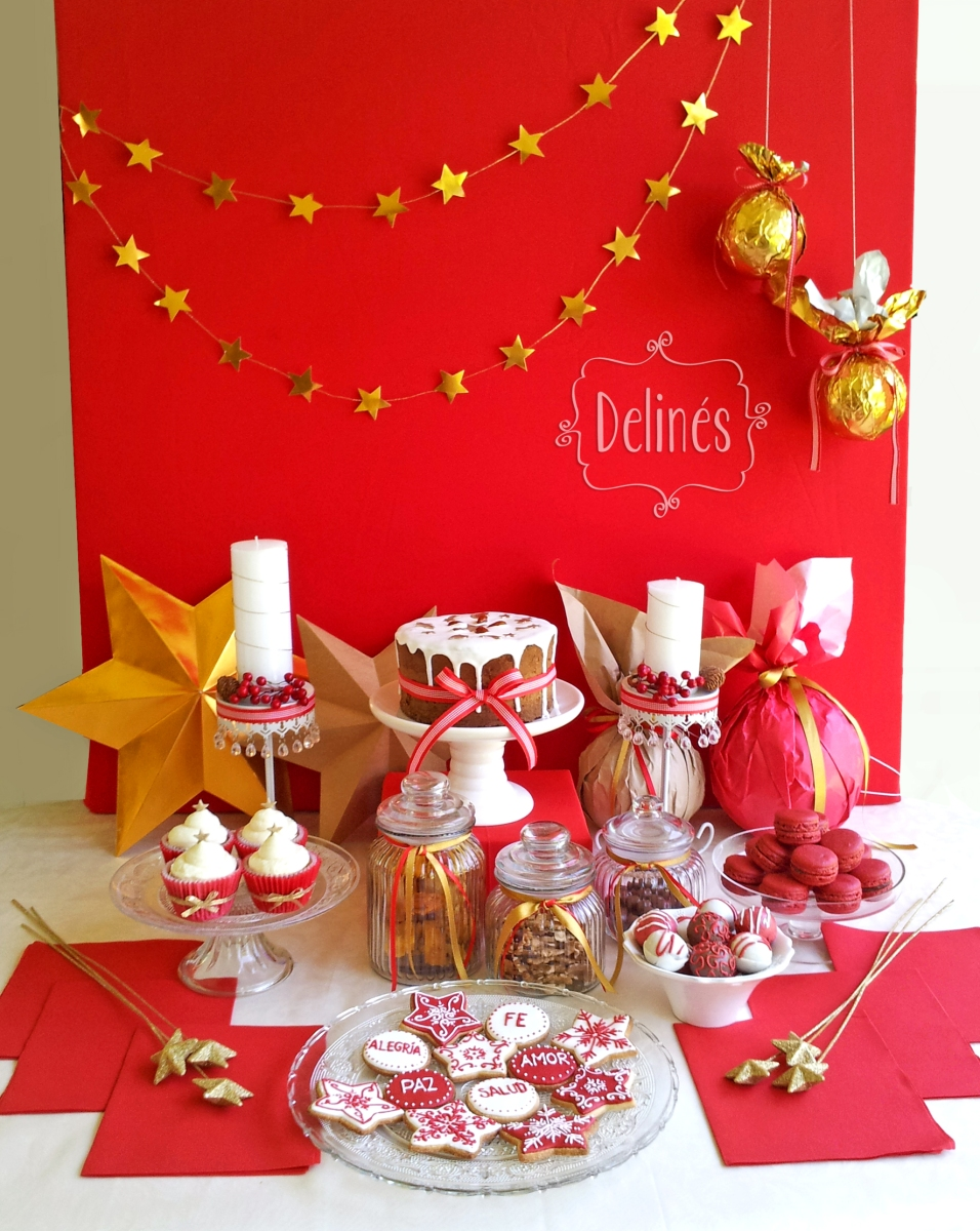 Feliz navidad delin s - Mesas dulces de navidad ...