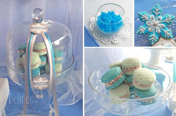 Frozen campana alfajorcitos y detalles