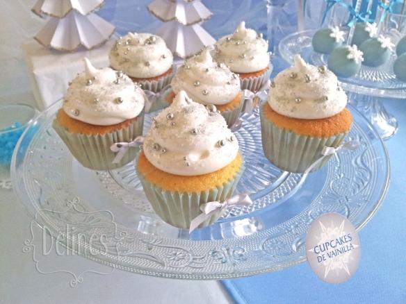 Frozen cupcakes vainilla
