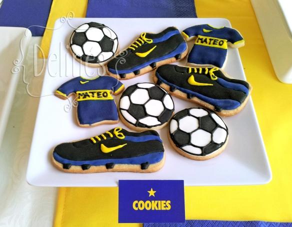 futbol boca cookies