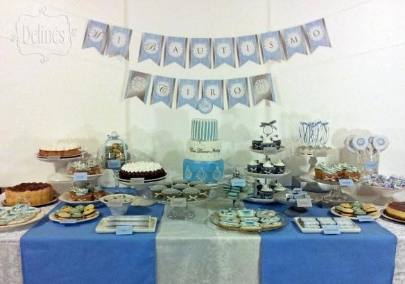 mesa dulce bautismo