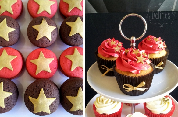 Hollywood cupcakes vainilla y whoopies