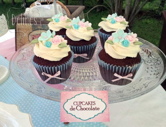 Sarah Kay Shabby chic cupcakes chocolate