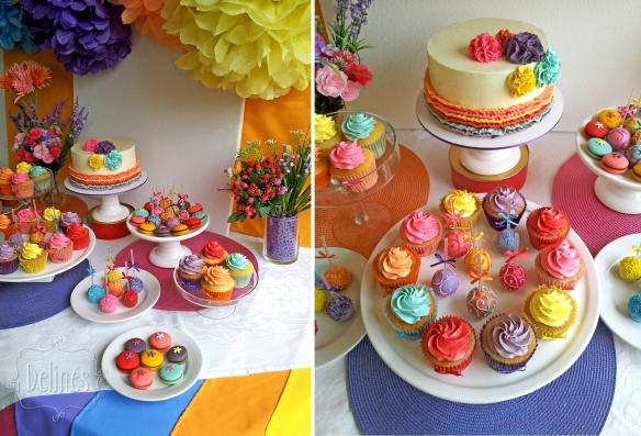 multicolor mesa costado y detalles