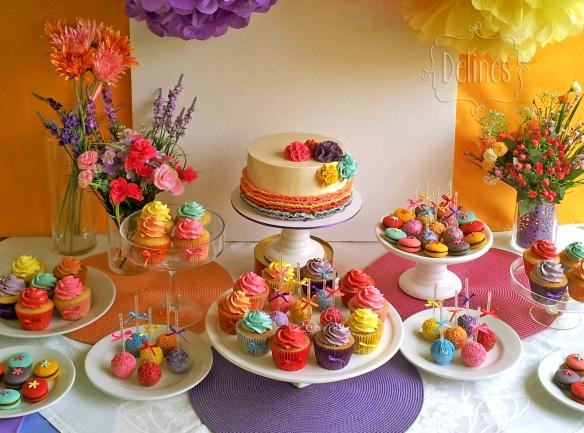 multicolor mesa dulce arriba