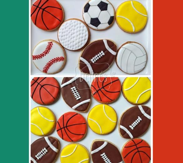 pelotas deportivas cookies varias