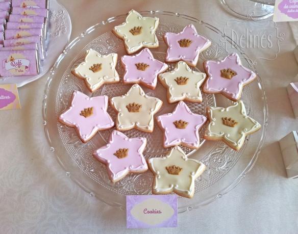 Principita cookies coronitas lejos