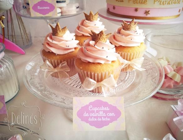 Principita cupcakes coronita