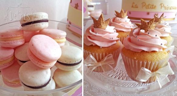 Principita cupcakes y macarons