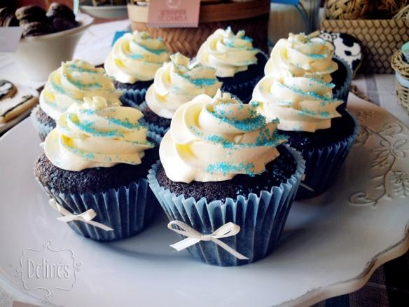 Animales de granja cupcakes de choco