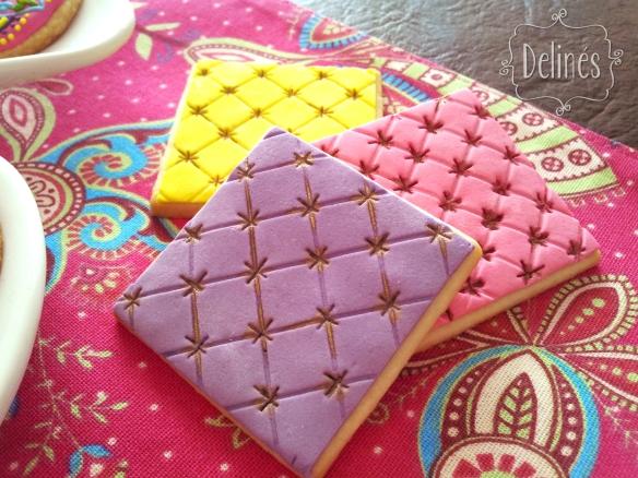 cookies mandala almohadilla