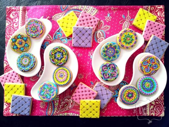 cookies mandala