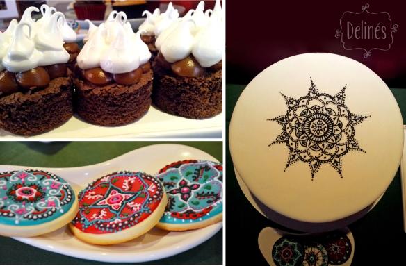 Morroco brownie y cookies y torta