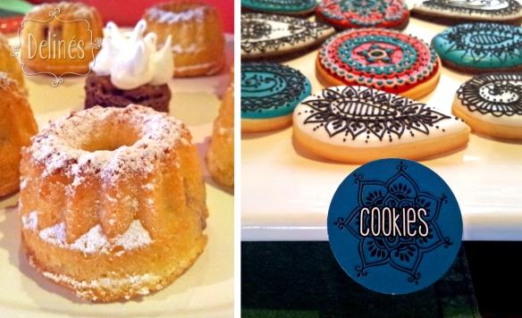 Morroco cookies y minibundtcake