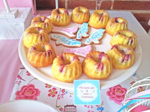 Pajaritos Shabby minibundtcake