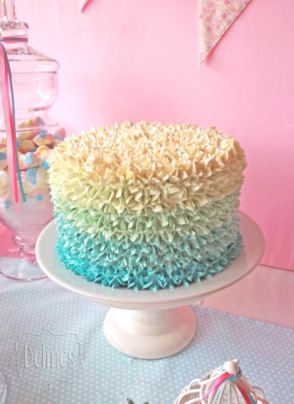 Pajaritos Shabby torta
