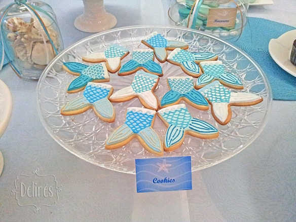 Sirenas cookies colas