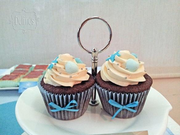 Sirenas cupcakes