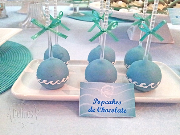 Sirenas popcakes