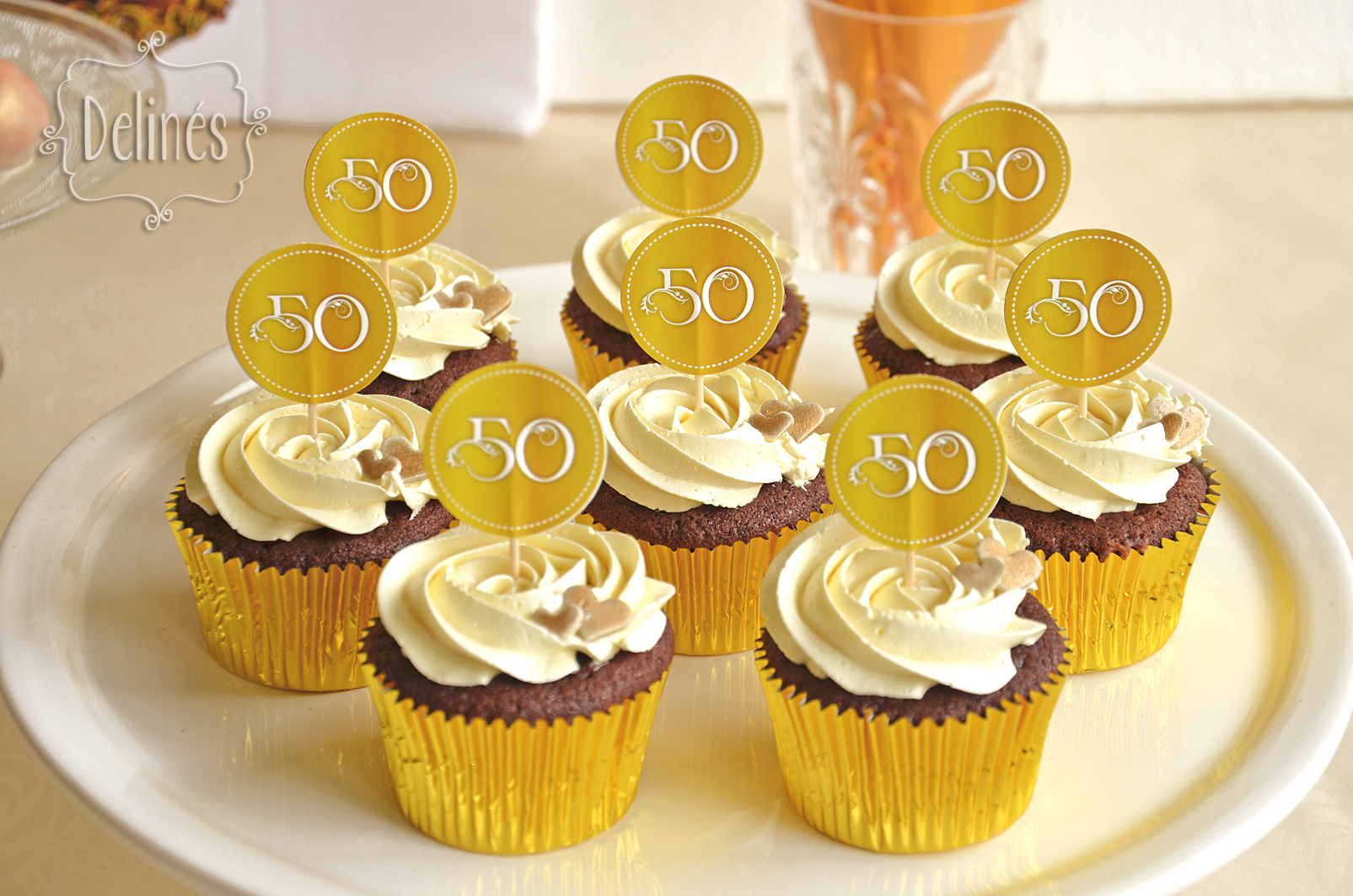 Decoracion Bodas De Oro ~   wedding result forward bodas de oro cupcakes jpg 1605 1063 bodas
