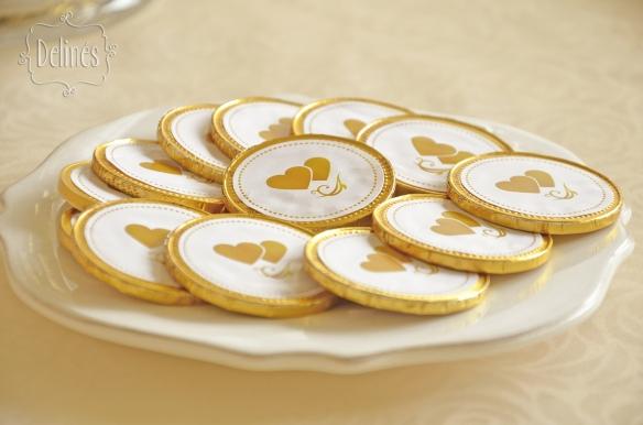 Bodas de Oro monedas
