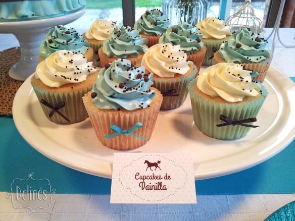 Equitacion cupcakes