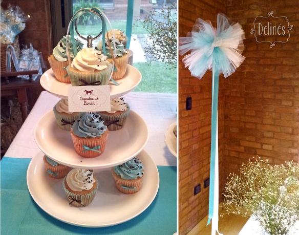 Equitacion torre cupcakes y deco