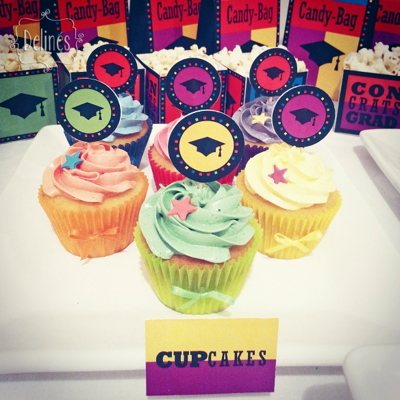 Graduacion cupcakes