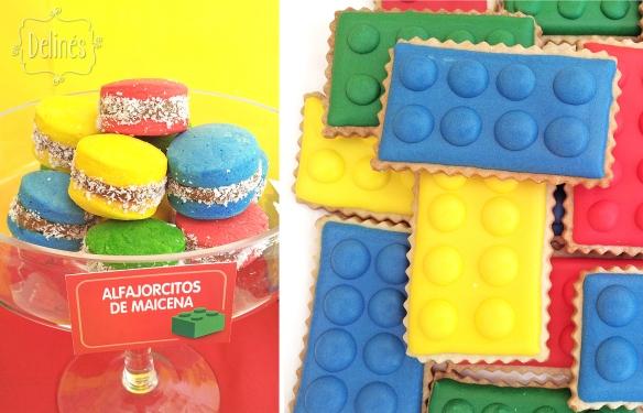Lego alfajorcitos maicena y cookies