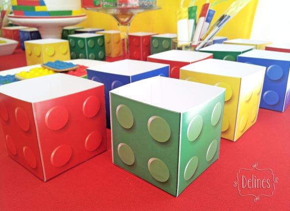 Lego cajas pochoclo