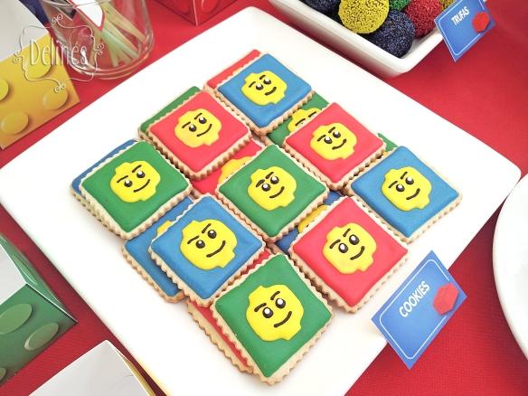 Lego cookies caritas