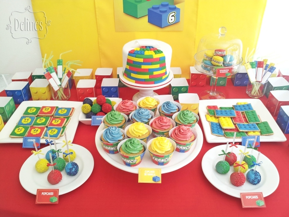 Lego mesa detalle