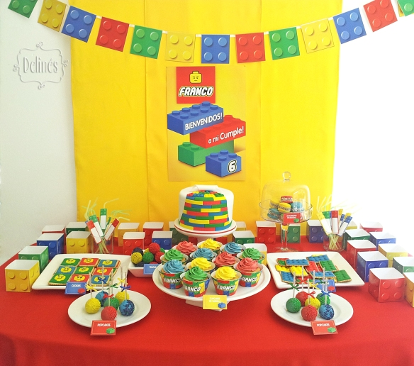 Lego mesa