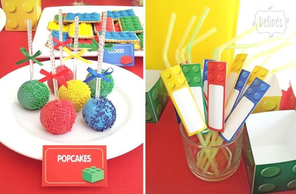 Lego popcakes y sorbetes