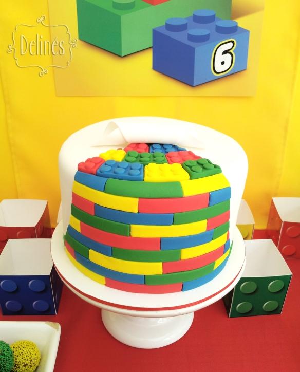 Lego torta (1)