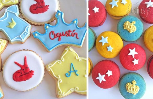 Principito Agustin cookies y whoopies