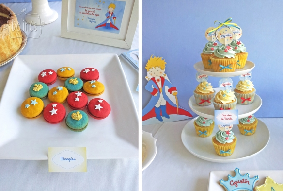 Principito Agustin whoopies y torre cupcakes