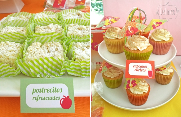 Summer party Ana apple y torre de cupcakes